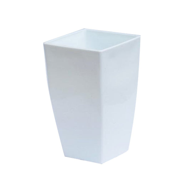 Vertical Planter - Small White  Height x Width x Breadth 20 x 12 x 12 cm