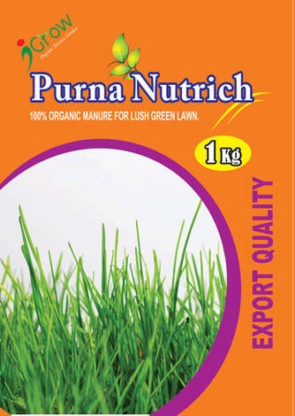 Purna Nutrich for Lawn 5Kg (5 X 1Kg Pack)
