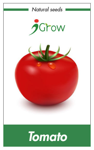 Naturally Treated Organic Tomato 125 Seeds