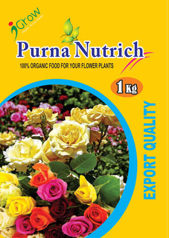 Purna Nutrich for Rose Plants 1Kg