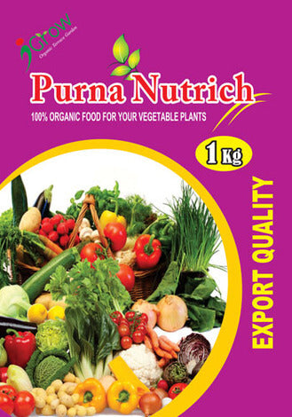 Purna Nutrich for Fruit & Vegetable Plants 1Kg