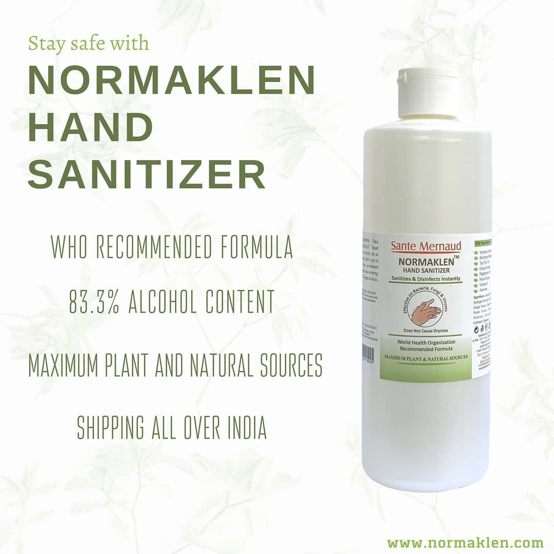 Normaklen Hand Sanitizer 500 ml