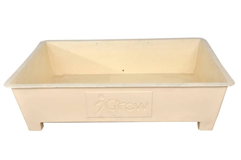 Terrace Garden Planter Box - Cream (3 Ft X 2 Ft)