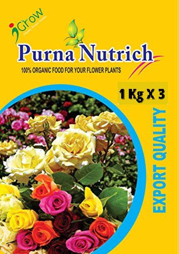 Purna Nutrich for Rose Plants 3Kg