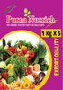 Purna Nutrich for Fruit & Vegetable Plants 5Kg ( 5 X 1 Kg pack)