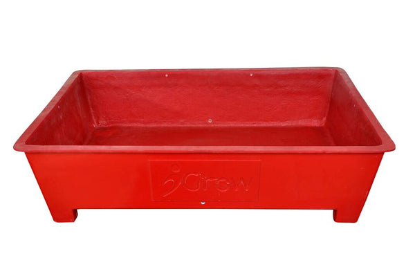 Organic Terrace Garden Planter Box -Red