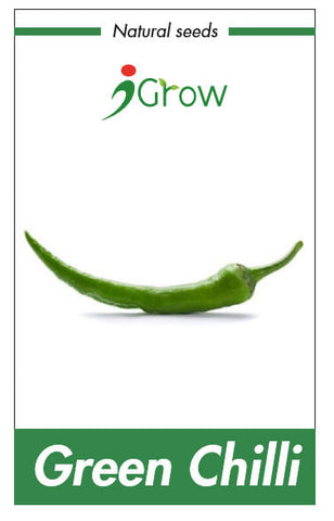 Natural Seeds - Green Chilli