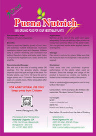 Buy online organic Purna Nutrich for Vegetable Plants 1Kg in India