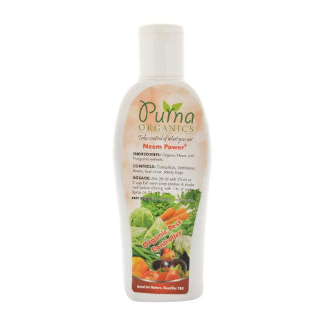 Purna Neem Power+ 100ml - Neem based Organic Pest Control
