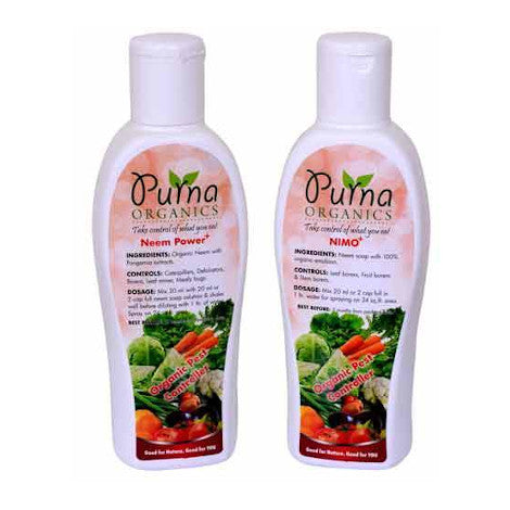 Pest Control Combo Large  (180ml*2)- Neem based