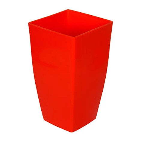 Vertical Planter- Small Red  Height x Width x Breadth 20 x 12 x 12 cm