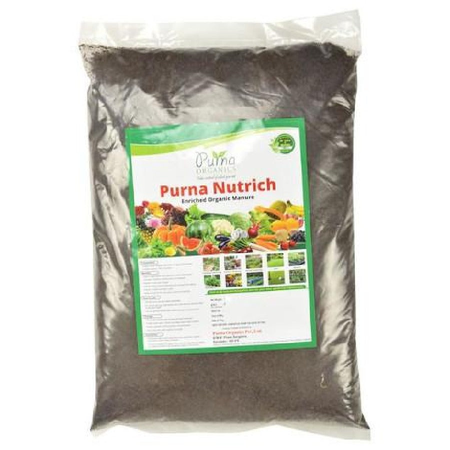 Purna Nutrich (Enriched Vermicompost) - 5Kg