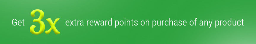 3X Reward Points