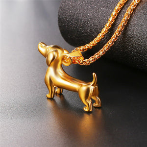 New Trends Classic Puppy Necklace -  Redsvill