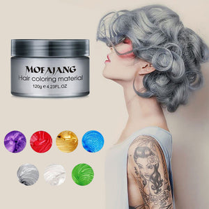 Hair Color Wax Dye - Hair Fashion Trend