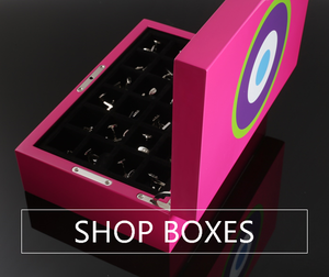 CUFFLINK BOXES - ONE BOND STREET