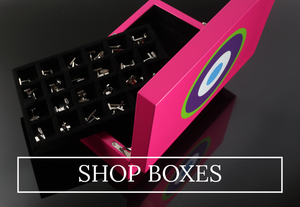 ONE BOND STREET cufflink, watch and jewellery boxes