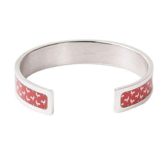 ROOSTER Silver Bangle - One Bond Street