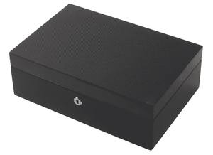 Lacquered Watch Box  CARBON FIBRE - One Bond Street
