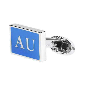 AUSTRALIA Sterling Silver Cufflinks - One Bond Street
