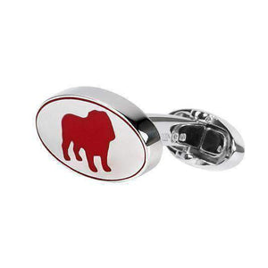Sterling Silver Cufflink CHINESE YEAR OF THE (BULL) DOG - One Bond Street