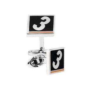MONACO Sterling Silver Cufflinks - One Bond Street