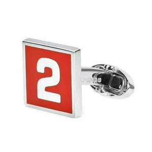 Sterling Silver Cufflink MONZA - One Bond Street