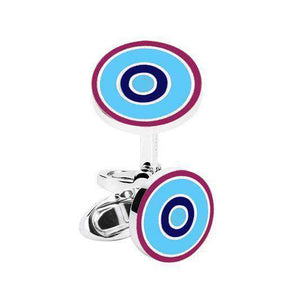 SKY Roundel Cufflinks - One Bond Street