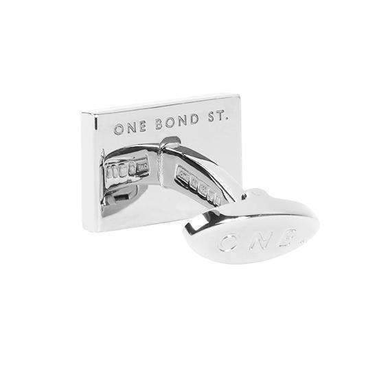 KYALAMI Sterling Silver Cufflinks - One Bond Street