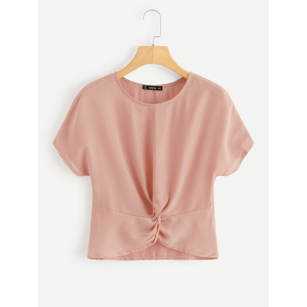Twist Front Solid Top