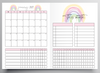 2021 MONTHLY RAINBOW DESIGN TN - A5 NO.8 SIZE INSERT