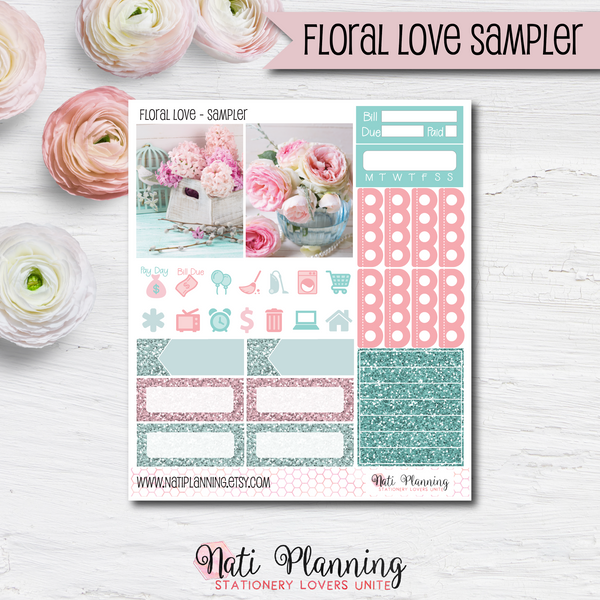 Floral Love - Kit SAMPLER