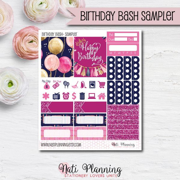 Birthday Bash - Kit SAMPLER