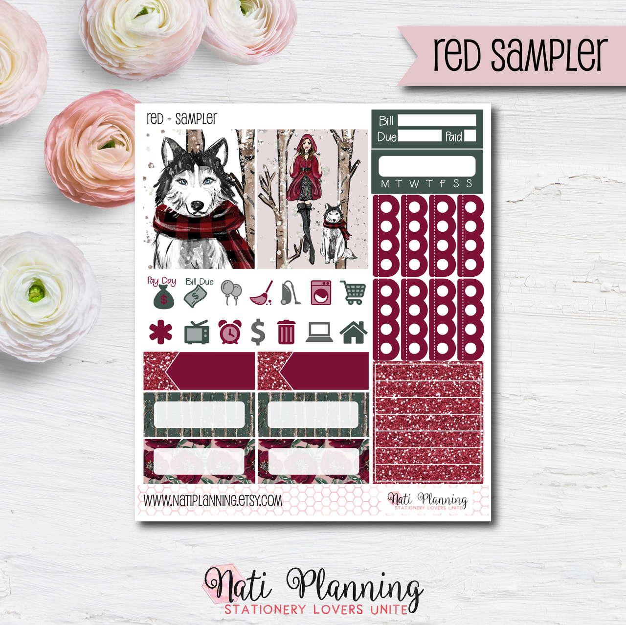 Little Red Riding Hood - Kit SAMPLER