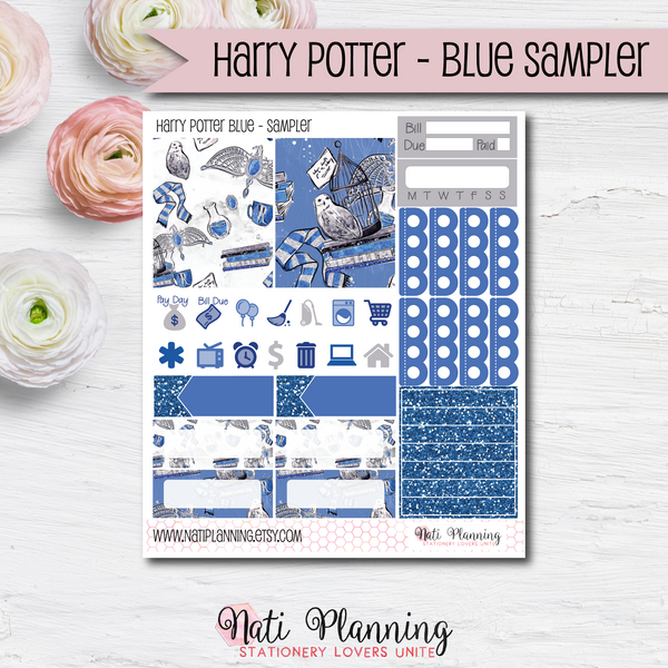 Ravenclaw Blue Wizardry - Kit SAMPLER