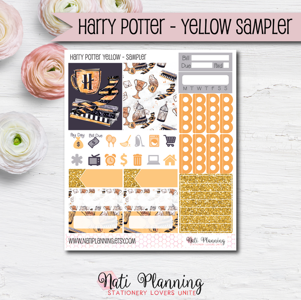 Hufflepuff Yellow Wizardry  - Kit SAMPLER