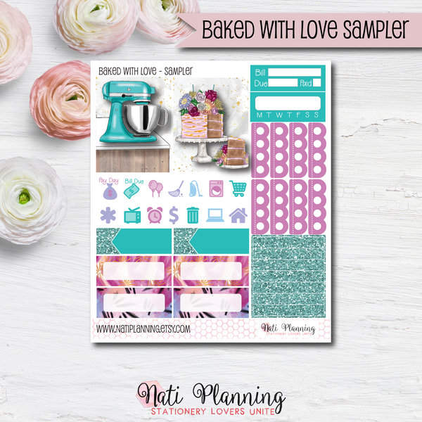 Baked with Love - Kit SAMPLER