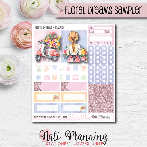Floral Dreams - Kit SAMPLER