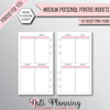 WEEKLY VERTICAL EC STYLE PINK - Personal Medium Size
