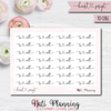 Heart Script Stickers - Part 1 - 33 Word Options