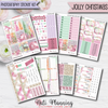 Jolly Christmas - INDIVIDUAL Sticker Sheets