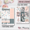 The Nut Cracker - Weekly VERTICAL Sticker Kit