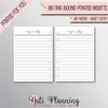 NOTES - NEW HEART SCRIPT - A6 Size (Punched)