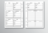 MEAL PLANNER PLAIN - A6 Size (Punched)