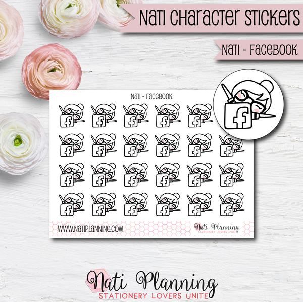 Nati - Facebook Stickers
