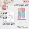 Work It - Weekly VERTICAL Sticker Kit