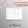 MEAL PLANNER AND SHOPPING LIST TN - POCKET NO.2 TN INSERTS