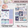 Magical Dreamscape - Weekly VERTICAL Sticker Kit
