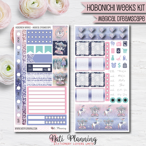 Magical Dreamscape - HOBONICHI WEEKS Sticker Kit