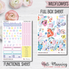 Wildflowers - Weekly VERTICAL Sticker Kit